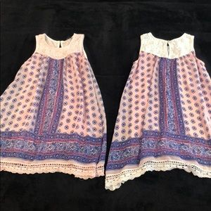 Flowy Floral Dress (separately/together) $15each